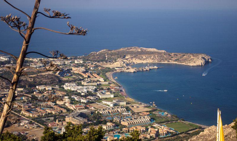 Отели Колимбии как на ладони, Родос