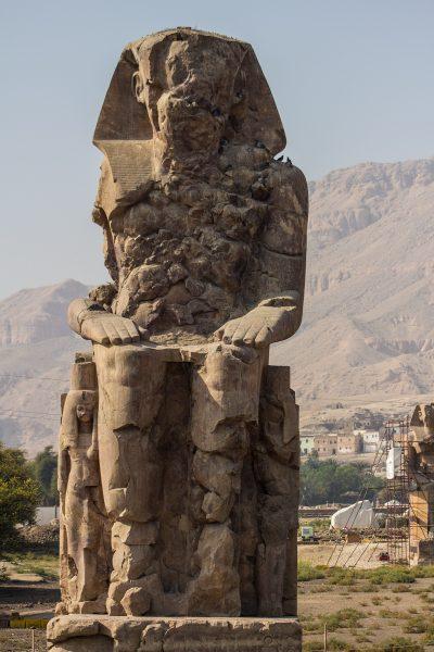Колоссы Мемнона или Аменхотепа III