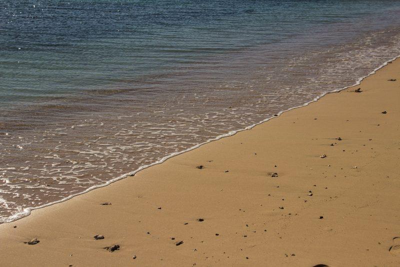 песочный пляж Сахл Хашиш